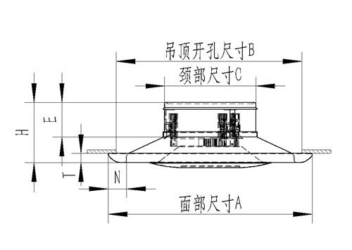 CP圆盘型散流器