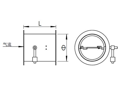 T303-1 圆形止回阀